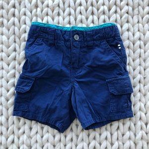Splendid Cargo Shorts in Two Tone Blue
